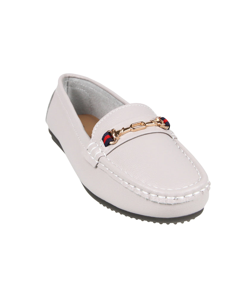 Load image into Gallery viewer, Tomaz LY52 Ladies Buckle Moccasins (Gray)
