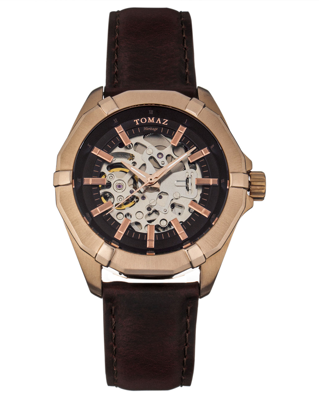 Tomaz Men's Watch TW009B (Brown) -2nd ver.