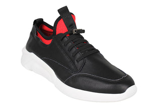 Tomaz A-41 Men's Sneakers (Black) - Tomaz Shoes