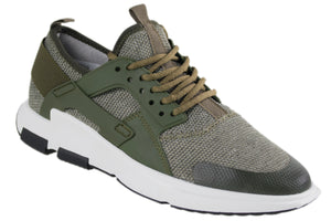 Tomaz 229 Running (Green) - Tomaz Shoes