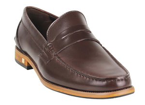 Tomaz F159 Penny Loafers (Coffee)