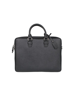 Load image into Gallery viewer, Tomaz NT28 Leather Office Bag (Black)