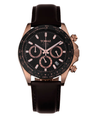 Load image into Gallery viewer, Tomaz Men's Watch GR02 (Rose Gold/Black/Black) -2nd ver.