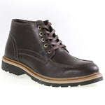 Tomaz C270 Perforated Leather Boots (Coffee) - Tomaz Shoes (8861481608)