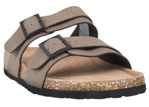 Tomaz M31 Strap Sandal (Dark Brown)