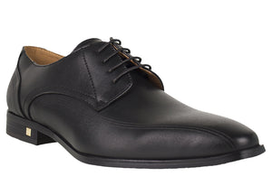 Tomaz F183 Lace Up Formal (Black) - Tomaz Shoes