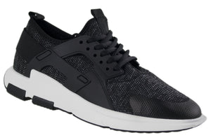 Tomaz 229 Running (Black) - Tomaz Shoes