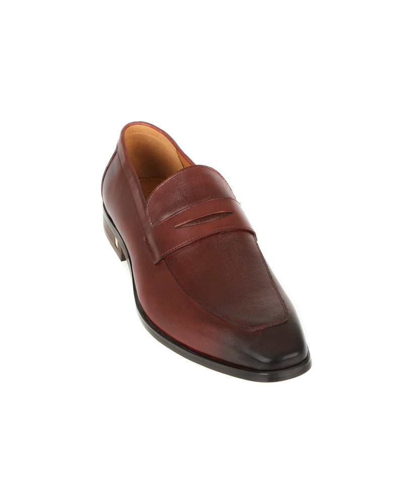 Load image into Gallery viewer, Tomaz F243 Penny Formal Slip On (Wine)