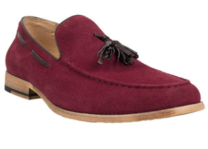 Tomaz C226 Tassel Loafers (Red) - Tomaz Shoes