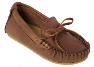 Tomaz C261 Ribbon Tassel Moccasins (Brown) - Tomaz Shoes