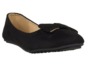 Load image into Gallery viewer, Tomaz LYF25 Suede Leather (Black) - Tomaz Shoes (752618995801)