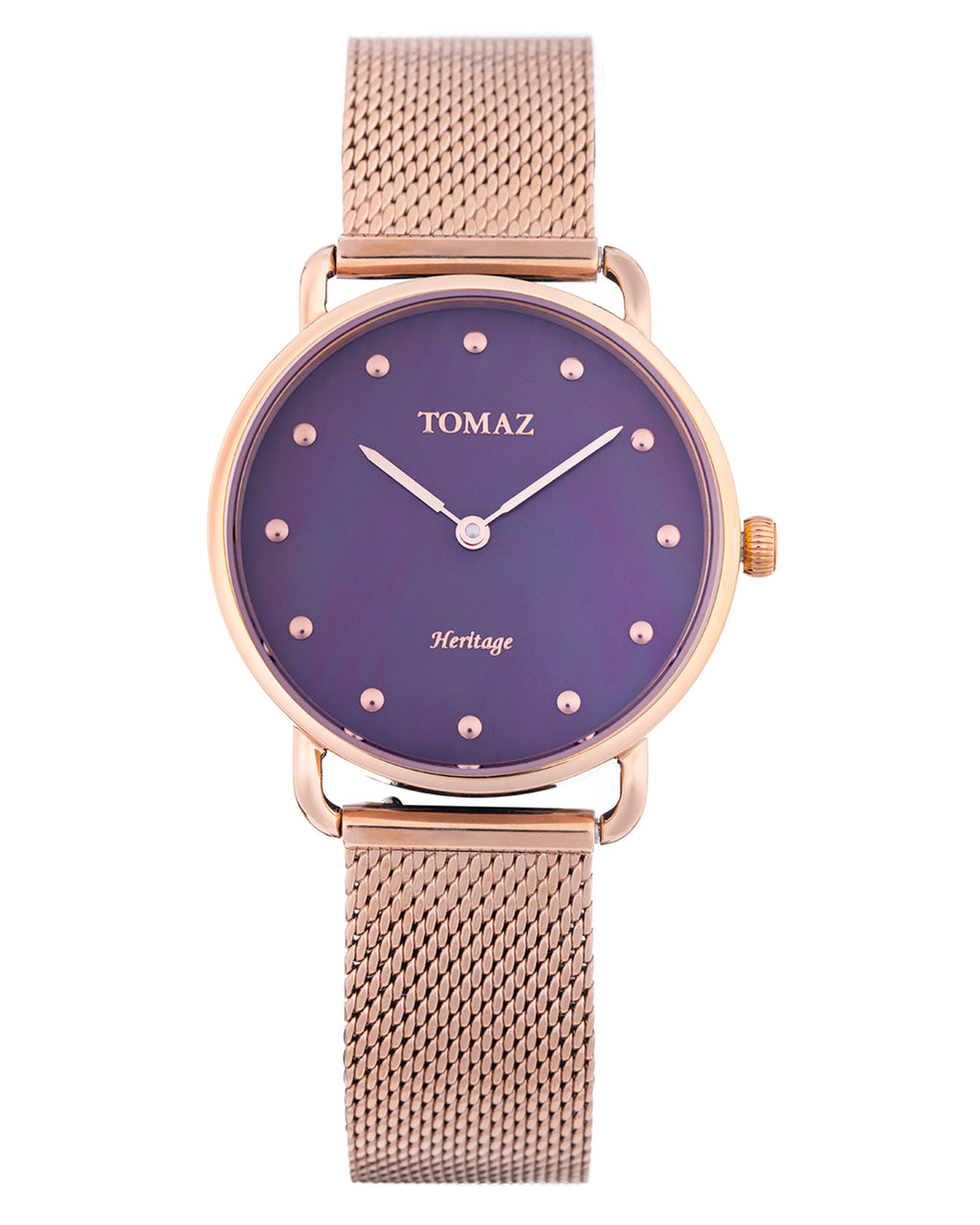 Tomaz Ladies Watch G1L-D6 (Rose Gold/Purple Marble)