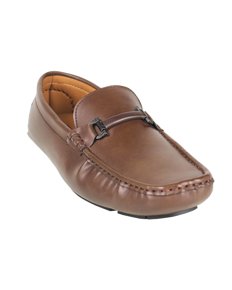 Load image into Gallery viewer, Tomaz C368 Buckled Loafers (Coffee) men's shoes casual, men's dress shoes, discount men's shoes, shoe stores, mens shoes casual, men's casual loafers men's loafers sale, men's dress loafers, shoe store near me.