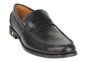 Tomaz F180 Penny Loafers (Black)
