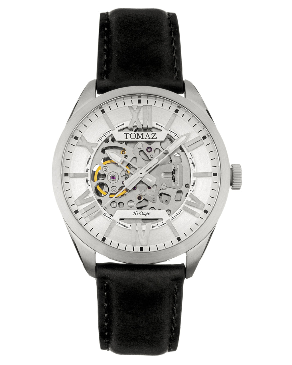 Tomaz Men's Watch TW007B (Silver/White) -2nd ver.