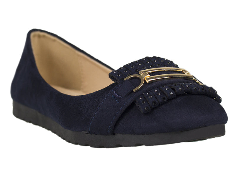 Load image into Gallery viewer, Tomaz LY34 Suede Leather (Navy) - Tomaz Shoes (752611328089)