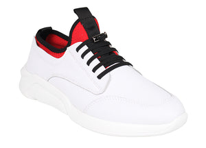 Tomaz A-41 Men's Sneakers (White) - Tomaz Shoes