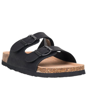 Load image into Gallery viewer, Tomaz F33 Ladies Strap Sandal (Black)