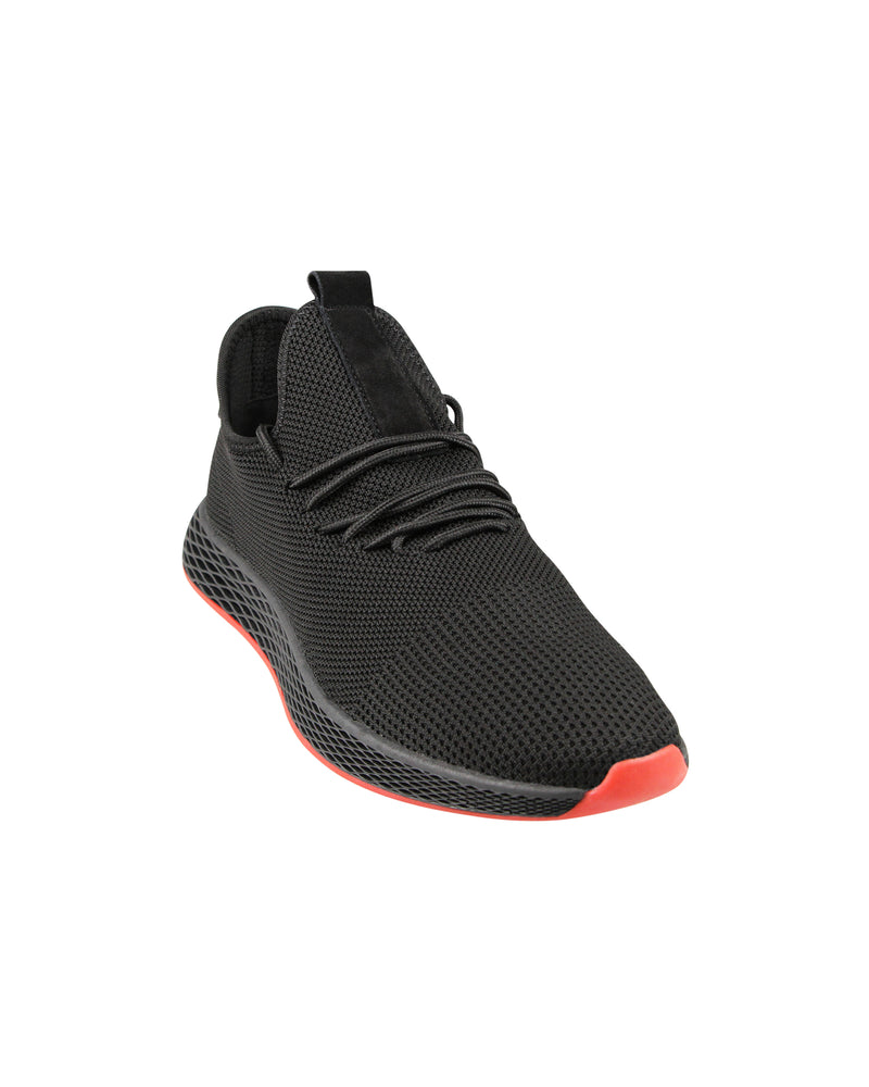 Load image into Gallery viewer, Tomaz TR290 Running Sneakers (Black) mens shoes sneaker, men's casual sneakers, Men sneakers, Men sneakers on sale, Men sneakers 2020, Men's sneakers on sale near me, Men's running sneakers on sale.