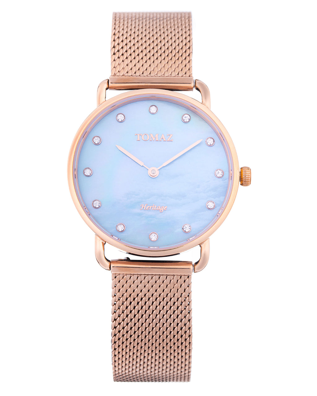 Tomaz Ladies Watch G1L-D9 (Rose Gold/Blue Marble)
