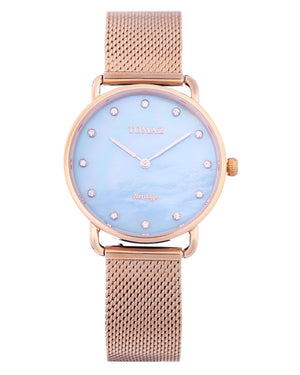 Load image into Gallery viewer, Tomaz Ladies Watch G1L-D9 (Rose Gold/Blue Marble)