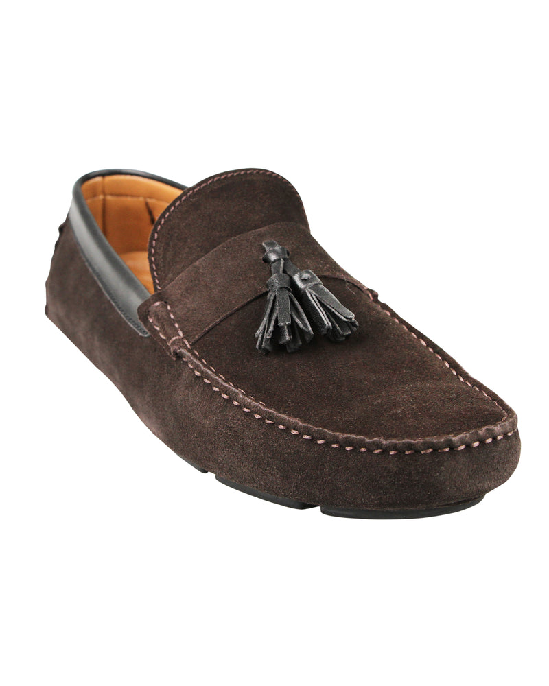 Load image into Gallery viewer, Tomaz C377 Tassel Moccasins (Coffee) men's shoes casual, men's dress shoes, discount men's shoes, shoe stores, mens shoes casual, men's casual loafers men's loafers sale, men's dress loafers, shoe store near me.