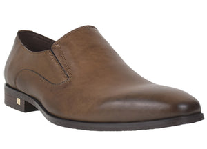 Load image into Gallery viewer, Tomaz F162 Formal Slip On (Brown) - Tomaz Shoes (420739973149)