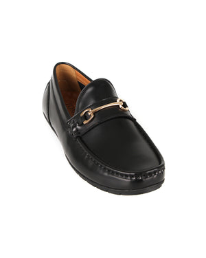 Load image into Gallery viewer, Tomaz C380 Buckle Moccasins (Black-2) men's shoes casual, men's dress shoes, discount men's shoes, shoe stores, mens shoes casual, men's casual loafers men's loafers sale, men's dress loafers, shoe store near me.
