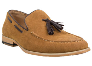 Tomaz C226 Tassel Loafers (Brown) - Tomaz Shoes