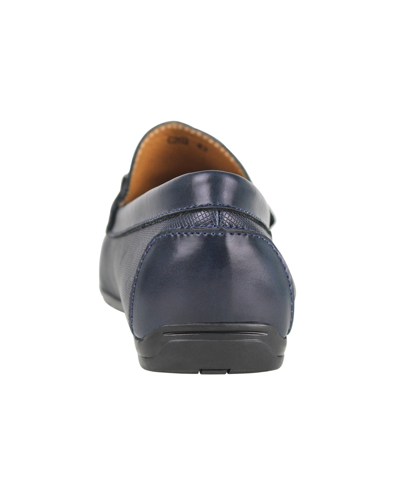 Load image into Gallery viewer, Tomaz C283 Front Buckle Loafers (Navy) men's shoes casual, men's dress shoes, discount men's shoes, shoe stores, mens shoes casual, men's casual loafers men's loafers sale, men's dress loafers, shoe store near me.