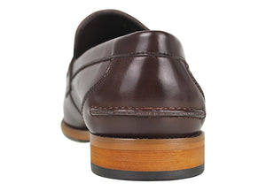 Load image into Gallery viewer, Tomaz F159 Penny Loafers (Coffee) (1552573497433)