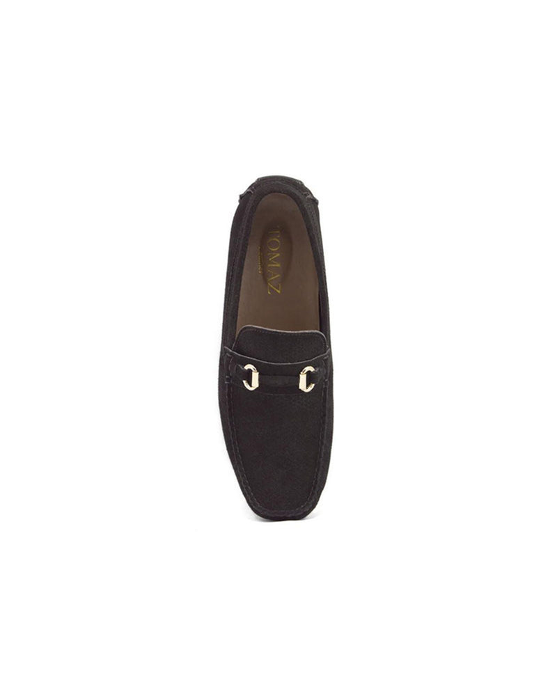 Load image into Gallery viewer, Tomaz C246 Buckled Loafers (Coffee)