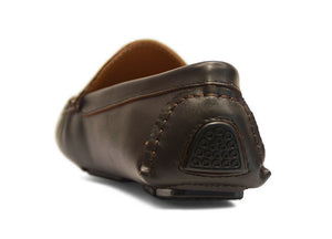 Tomaz C148 Side Buckled Loafers (Coffee) - Tomaz Shoes
