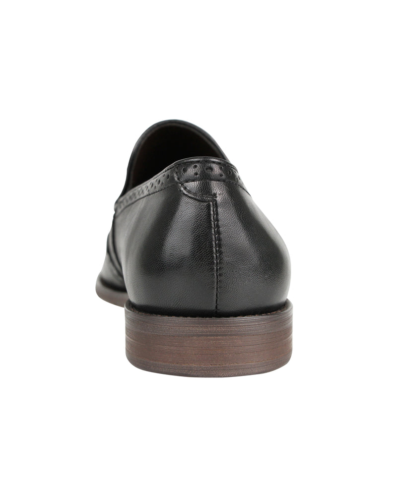 Load image into Gallery viewer, Tomaz F216 Wingtip Slip Ons (Black)