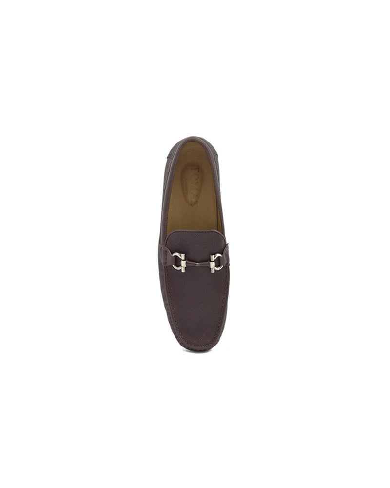 Load image into Gallery viewer, Tomaz C255 Buckled Loafers (Coffee)
