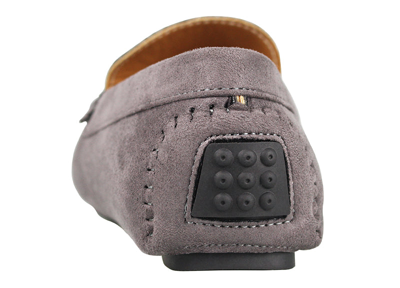 Load image into Gallery viewer, Tomaz C228A Bow Slip On (Grey) - Tomaz Shoes (1415345340505)