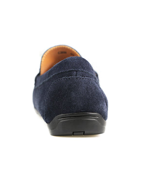Load image into Gallery viewer, Tomaz C387 Horsebit Moccasins (Navy) men's shoes casual, men's dress shoes, discount men's shoes, shoe stores, mens shoes casual, men's casual loafers men's loafers sale, men's dress loafers, shoe store near me.