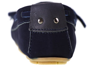 Load image into Gallery viewer, Tomaz C261 Ribbon Tassel Moccasins (Navy) - Tomaz Shoes (10303941256)