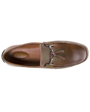 Load image into Gallery viewer, Tomaz BF004 Buckle Moccasins (Brown)