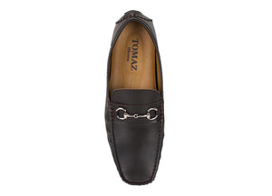 Load image into Gallery viewer, Tomaz C344 Buckle Loafers (Coffee) - Tomaz Shoes (757166375001)