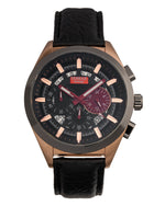 Tomaz Men's Watch Romeo XXV (Rose Gold/Black/Grey) -TW025-D6 best men watch, automatic watch for men, Trending men watch, Luxury watch, Watches of Switzerland, automatic watch for men, jam tangan lelaki, jam tangan automatik, jam kronograf