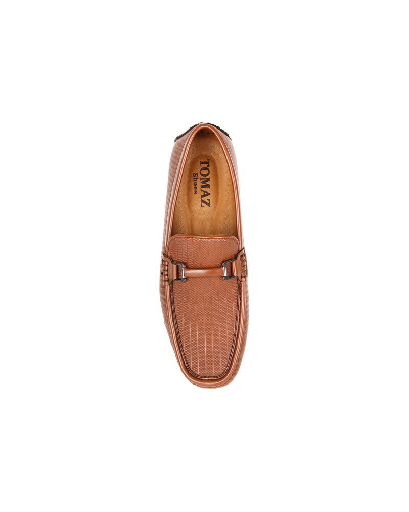 Load image into Gallery viewer, Tomaz C392 Buckle Moccasins (Brown) men's shoes casual, men's dress shoes, discount men's shoes, shoe stores, mens shoes casual, men's casual loafers men's loafers sale, men's dress loafers, shoe store near me.