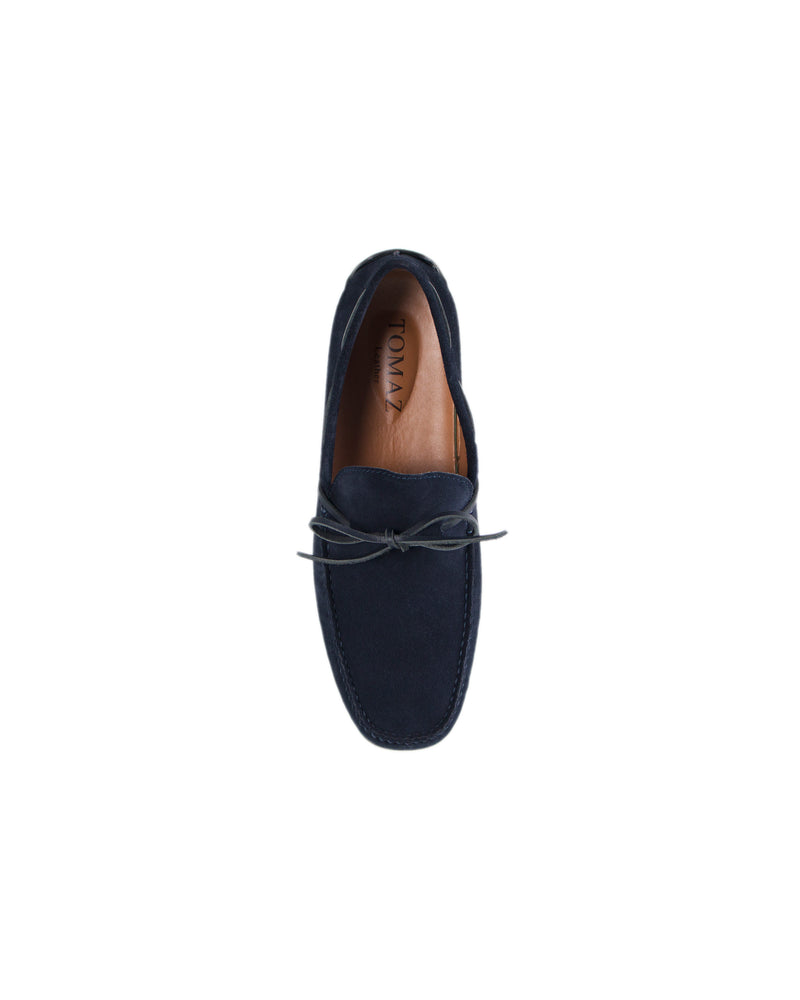 Load image into Gallery viewer, Tomaz BF309 Bow Moccasins (Navy)