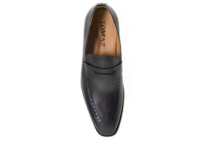 Load image into Gallery viewer, Tomaz F129 Penny Loafers (Black) - Tomaz Shoes (275935166493)