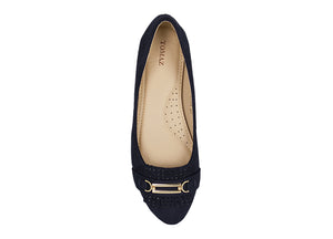 Tomaz LY34 Suede Leather (Navy) - Tomaz Shoes