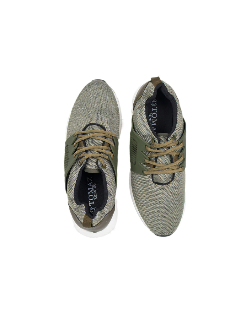 Load image into Gallery viewer, Tomaz TR232 Men's Casual Sneakers (Green) - Warehouse Clearance