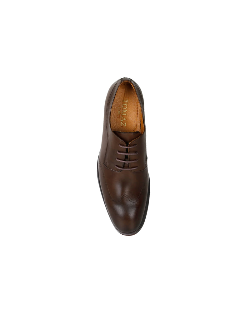 Load image into Gallery viewer, Tomaz F149 Lace Up Formal (Coffee) men shoe, men's shoe, men's italian dress shoes, men's dress shoes guide, men's dress shoes near me, dress shoes men, famous footwear near me, famous footwear locations, shoe store near me, best formal shoes, formal shoes