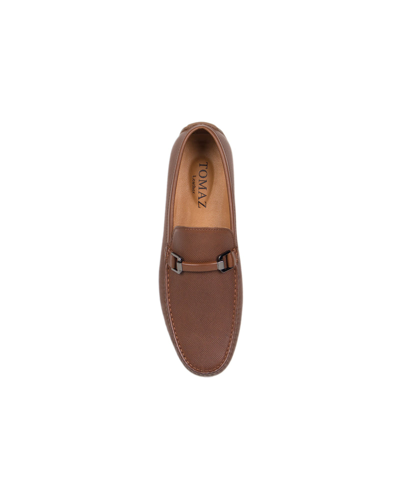 Load image into Gallery viewer, Tomaz C320 Front Buckled Moccasins (Brown) men's shoes casual, men's dress shoes, discount men's shoes, shoe stores, mens shoes casual, men's casual loafers men's loafers sale, men's dress loafers, shoe store near me.