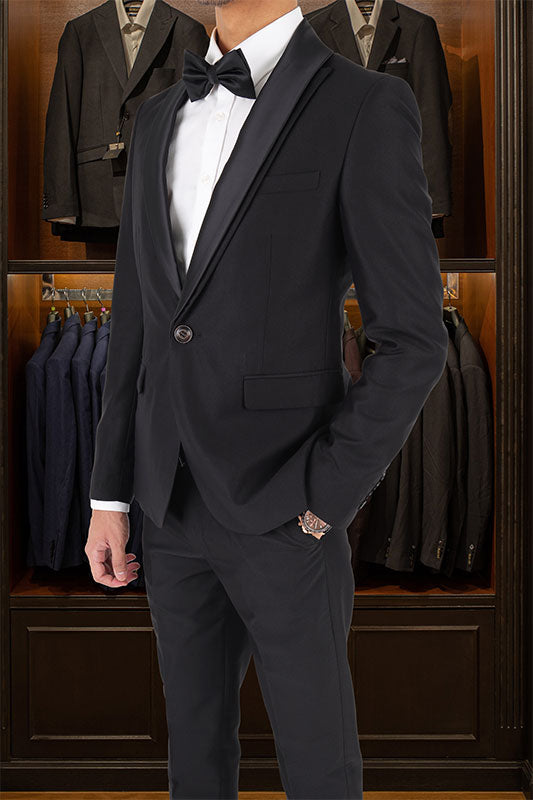 Tomaz 6080-5 Single Breasted Blazer (Black) suits for men, blazer, blazer for men, blazer murah, blazer lelaki, casual blazer blazer coat, black blazer, tuxedo, tux, tuxedo suit, tuxedo Malaysia murah, blazer bawah RM 300