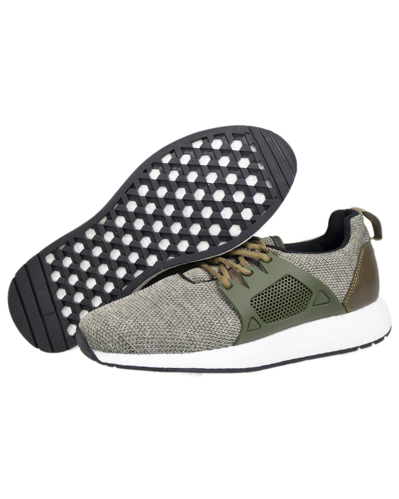 Load image into Gallery viewer, Tomaz TR238 Primeknit (Green) mens shoes sneaker, men's casual sneakers, Men sneakers, Men sneakers on sale, Men sneakers 2020, Men's sneakers on sale near me, Men's running sneakers on sale.